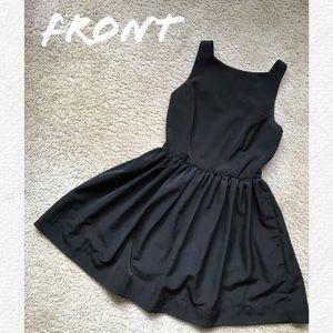 American Apparel Mini Black Dress